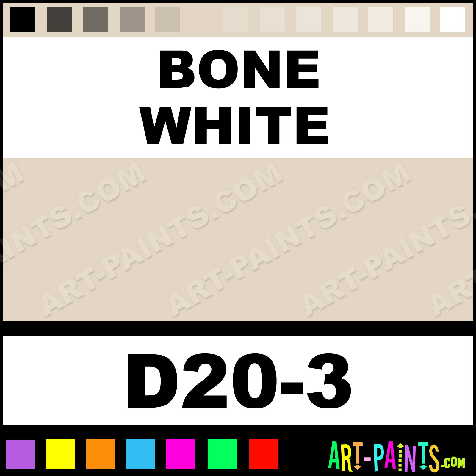 Bone white interior exterior enamel paints d20 3 bone white bone white bone white paint nvjuhfo Gallery