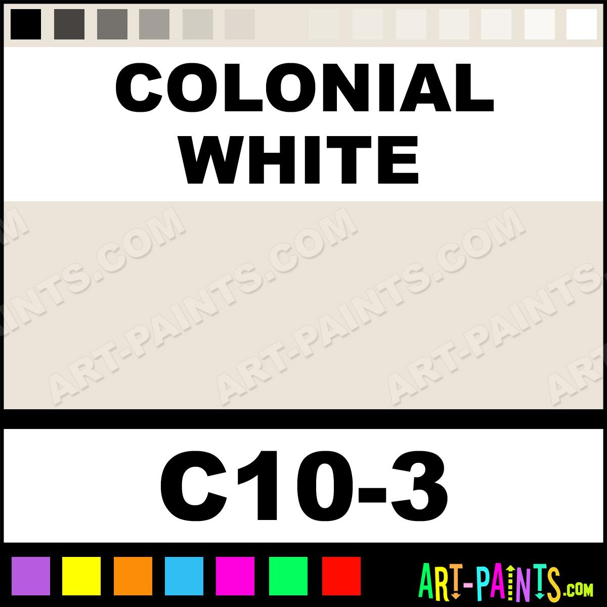 colonial white interior exterior enamel paints c10 3