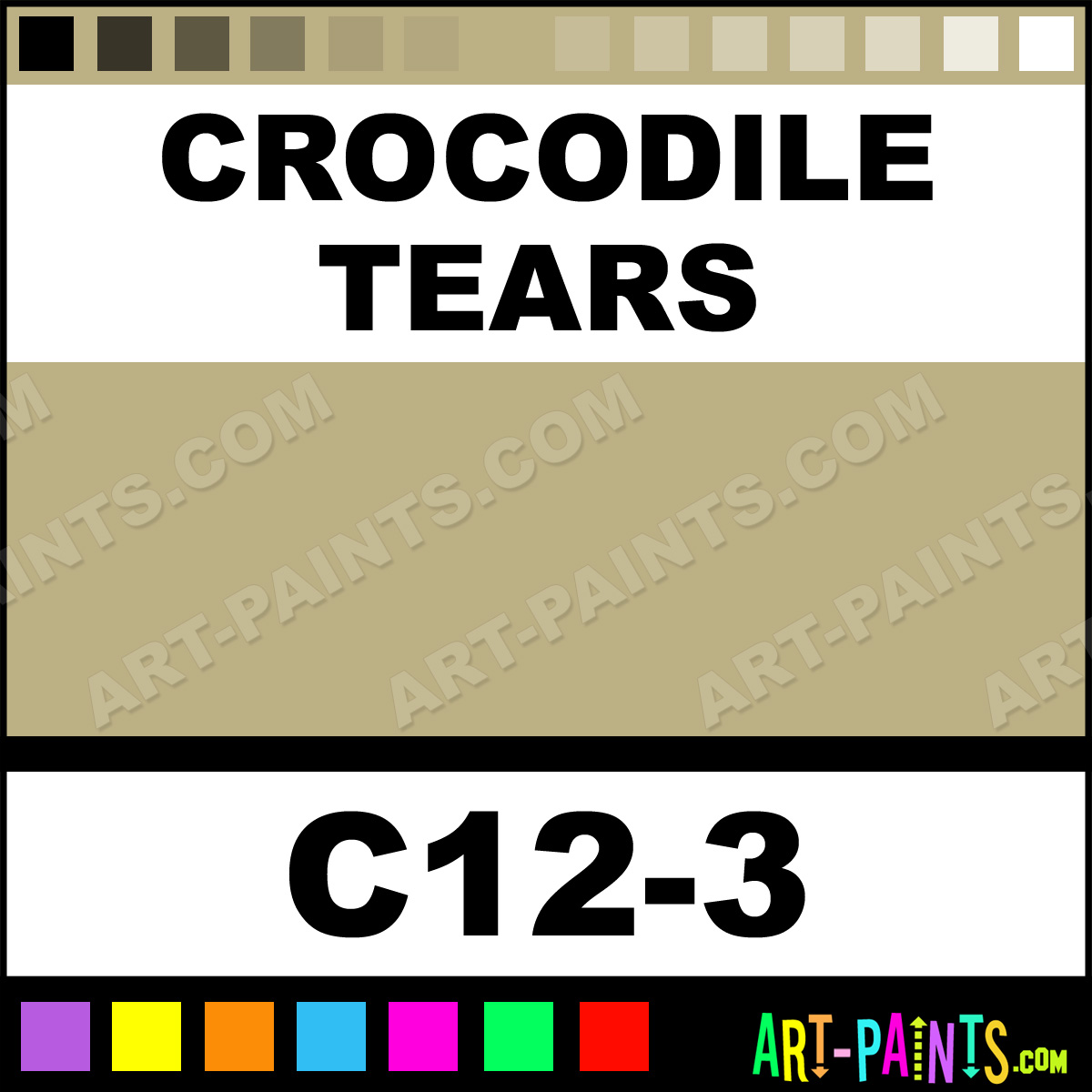 crocodile tears interior exterior enamel paints c12 3