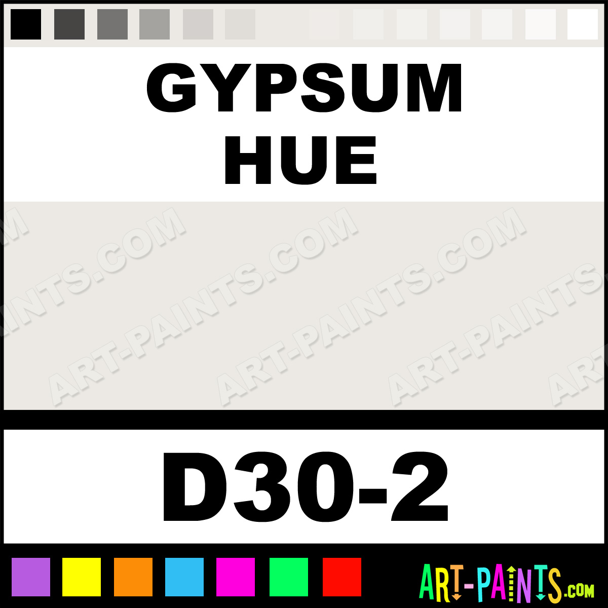 Gypsum interior exterior enamel paints d30 2 gypsum for Gypsum colour