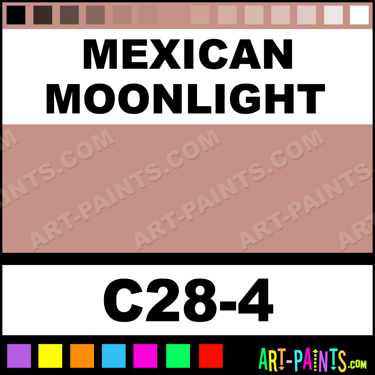 Mexican Moonlight Interior Exterior Enamel Paints C28 4 Mexican Moonlight Paint Mexican