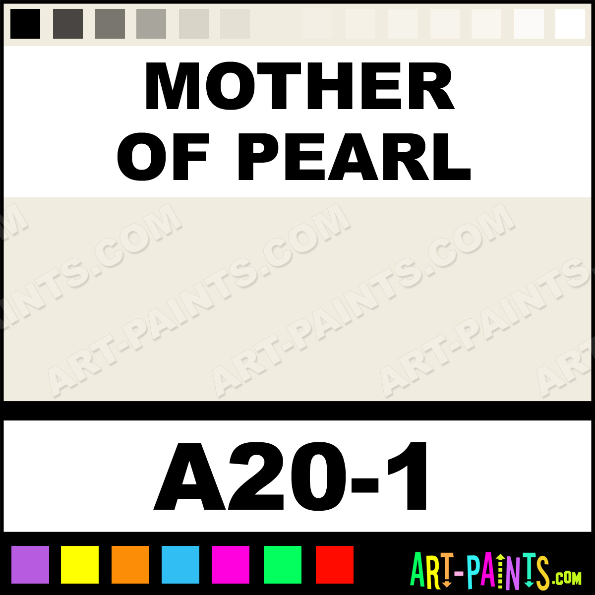 Mother Of Pearl Interior Exterior Enamel Paints A20 1