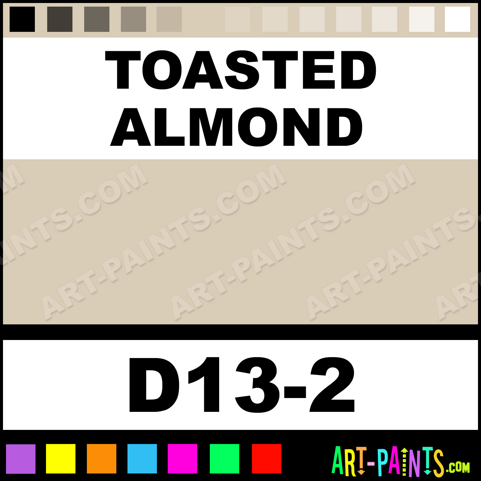 Toasted Almond Interior Exterior Enamel Paints D13 2 Toasted