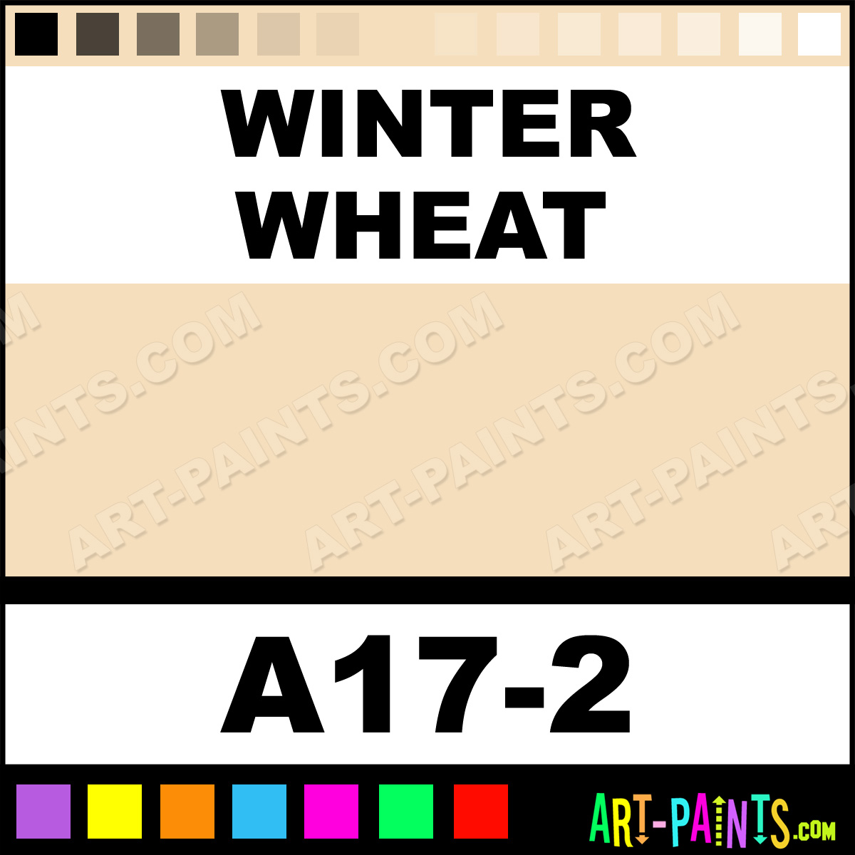 Winter Wheat Interior Exterior Enamel Paints A17 2