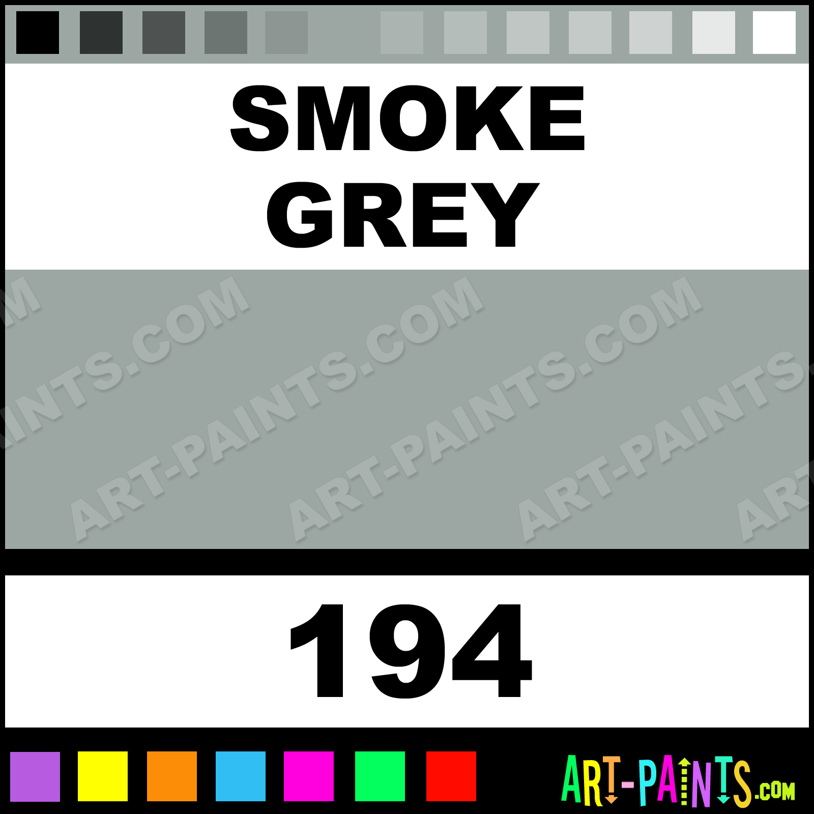 Smoke grey fast dry enamel paints 194 smoke grey paint for Fast drying craft paint