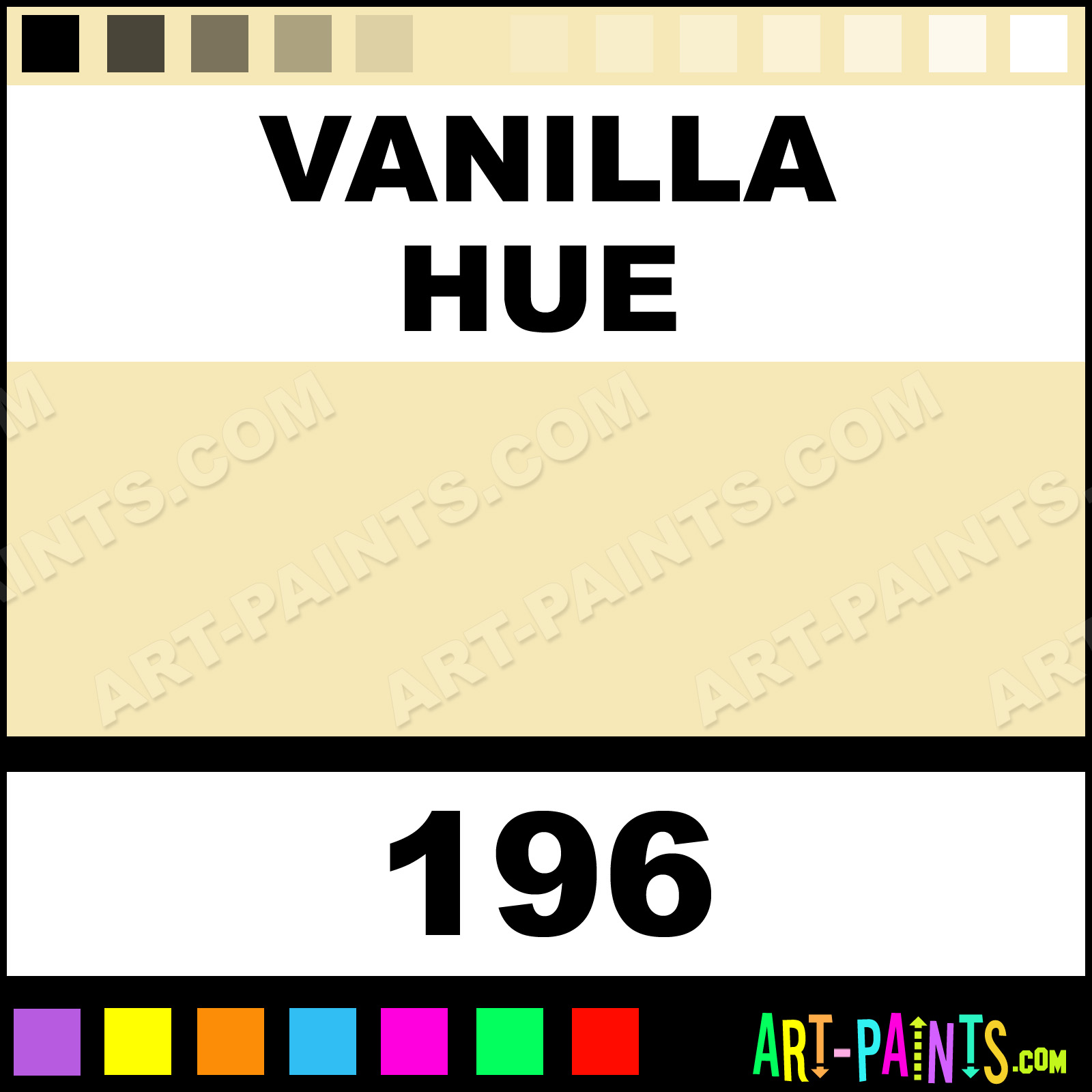 Vanilla fast dry enamel paints 196 vanilla paint for Fast drying craft paint