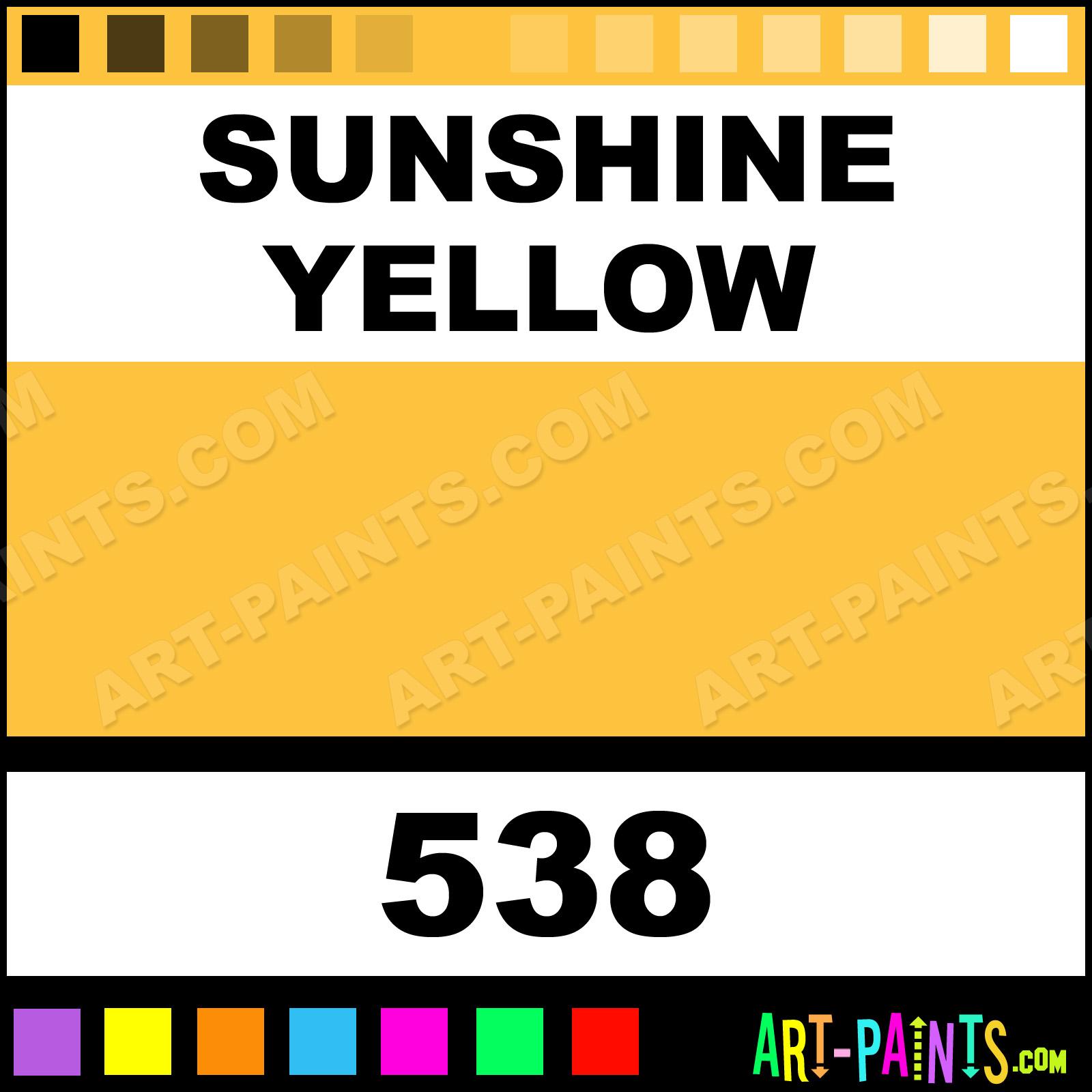 Sunshine Yellow Paint