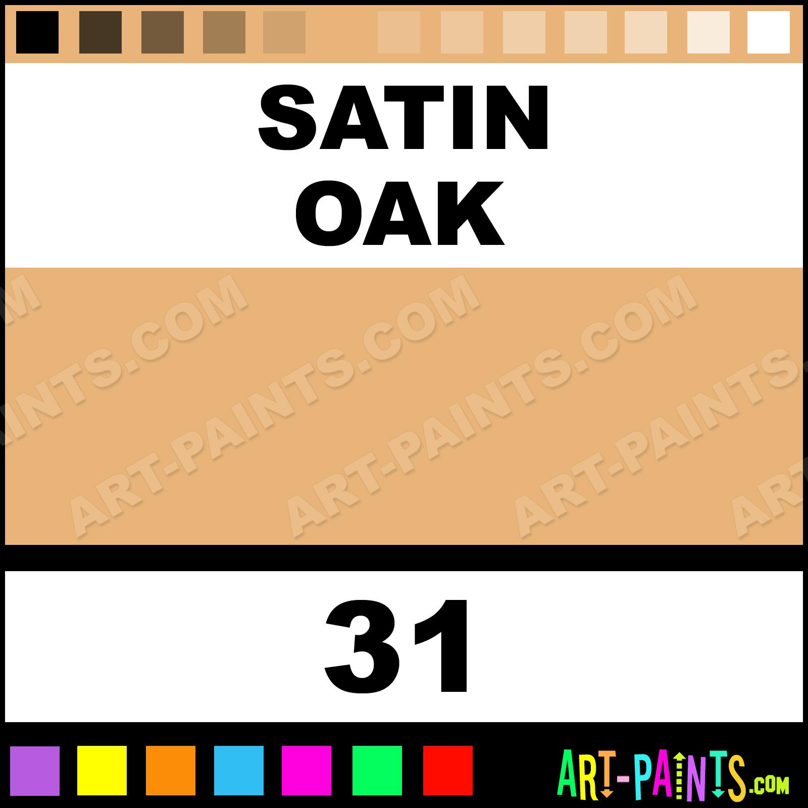 oak color paintSatin Oak Acrylic Enamel Paints  31  Satin Oak Paint Satin Oak