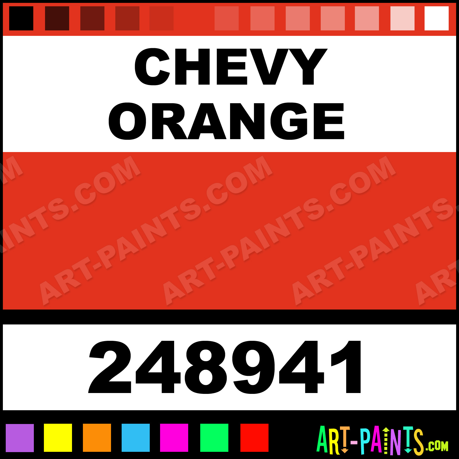 Chevy Orange Engine Paint Colors, Chevy, Free Engine Image ...
