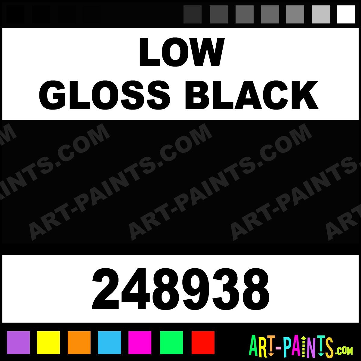 Low Gloss Black Engine Enamel Enamel Paints 248938 Low