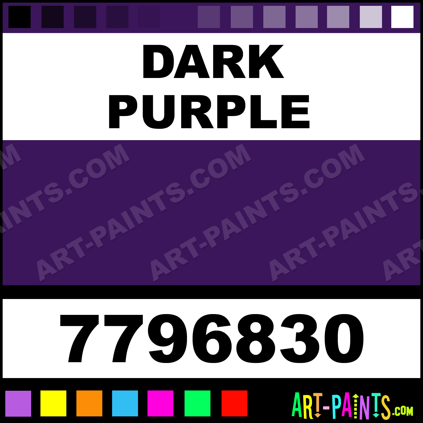Dark Purple Gloss Protective Enamel Paints - 7796830 - Dark
