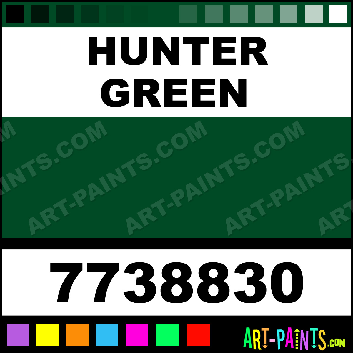 Hunter Green Gloss Protective Enamel Paints 7738830