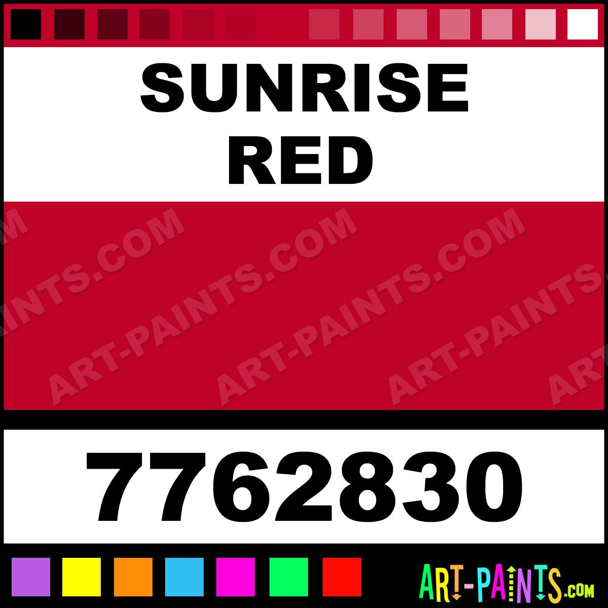 Sunrise Red Gloss Protective Enamel Paints 7762830
