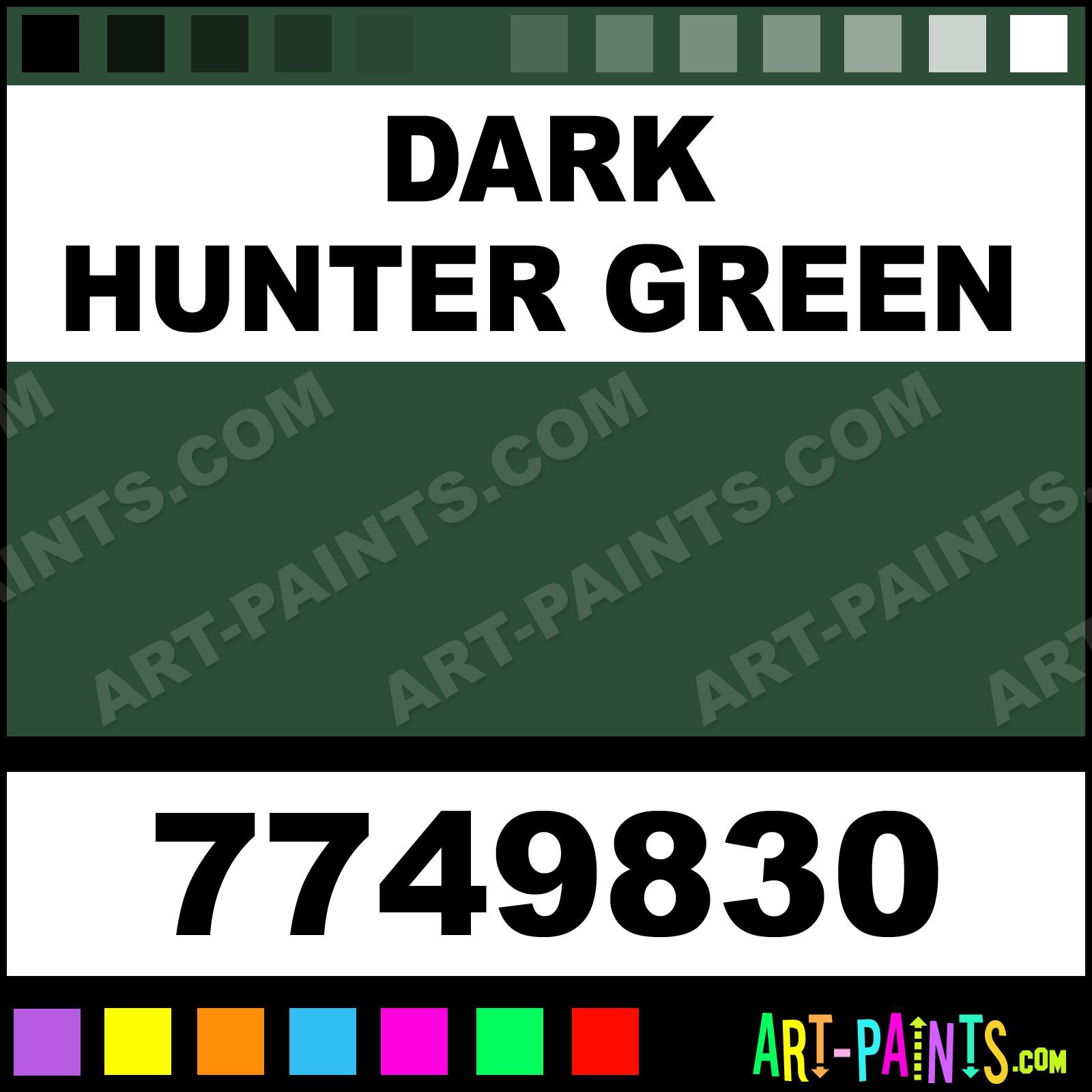 Rust Oleum Satin Paints Dark Hunter Green