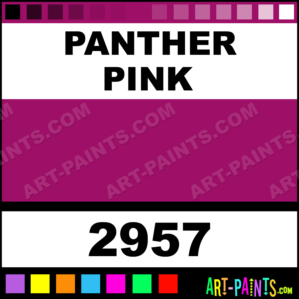 Panther Pink Paint 2957 by