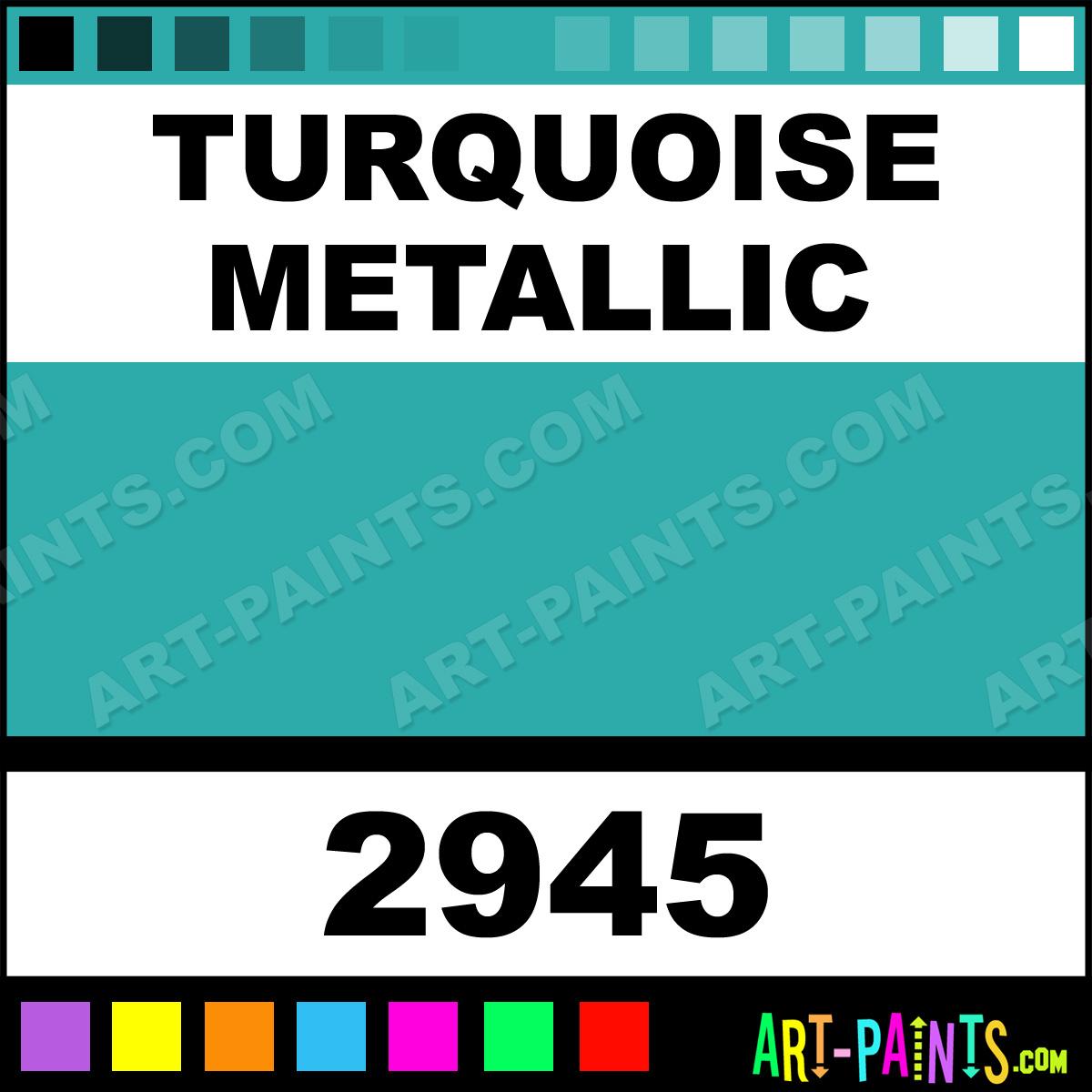 turquoise metallic car and truck enamel paints 2945. Black Bedroom Furniture Sets. Home Design Ideas