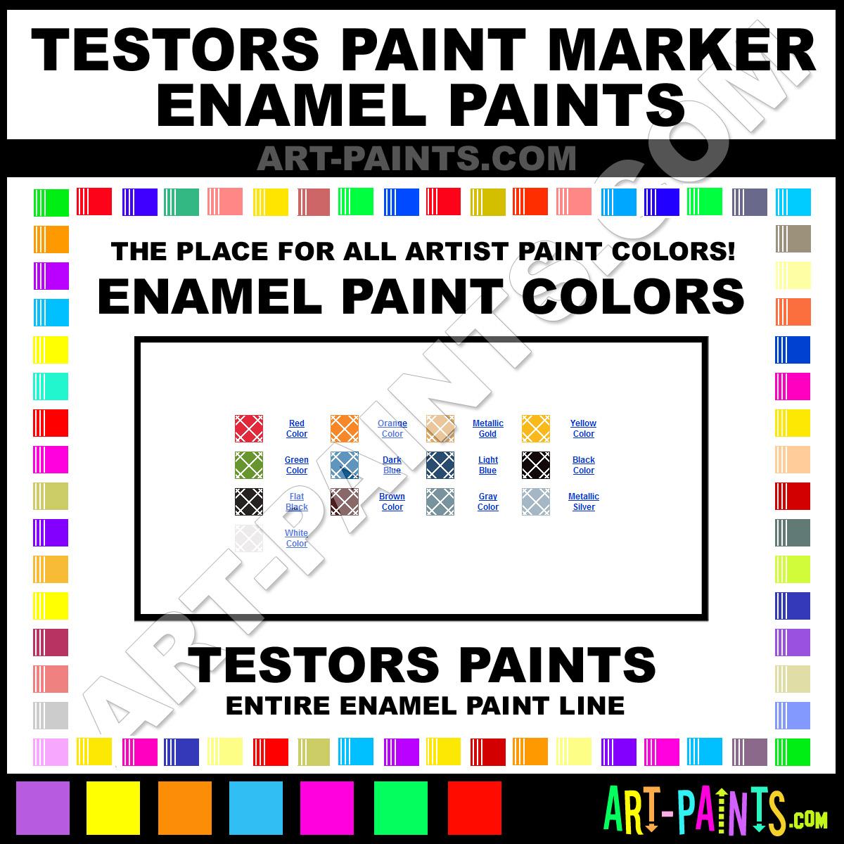 Orange Paint Marker Enamel Paints 2527c Orange Paint Orange