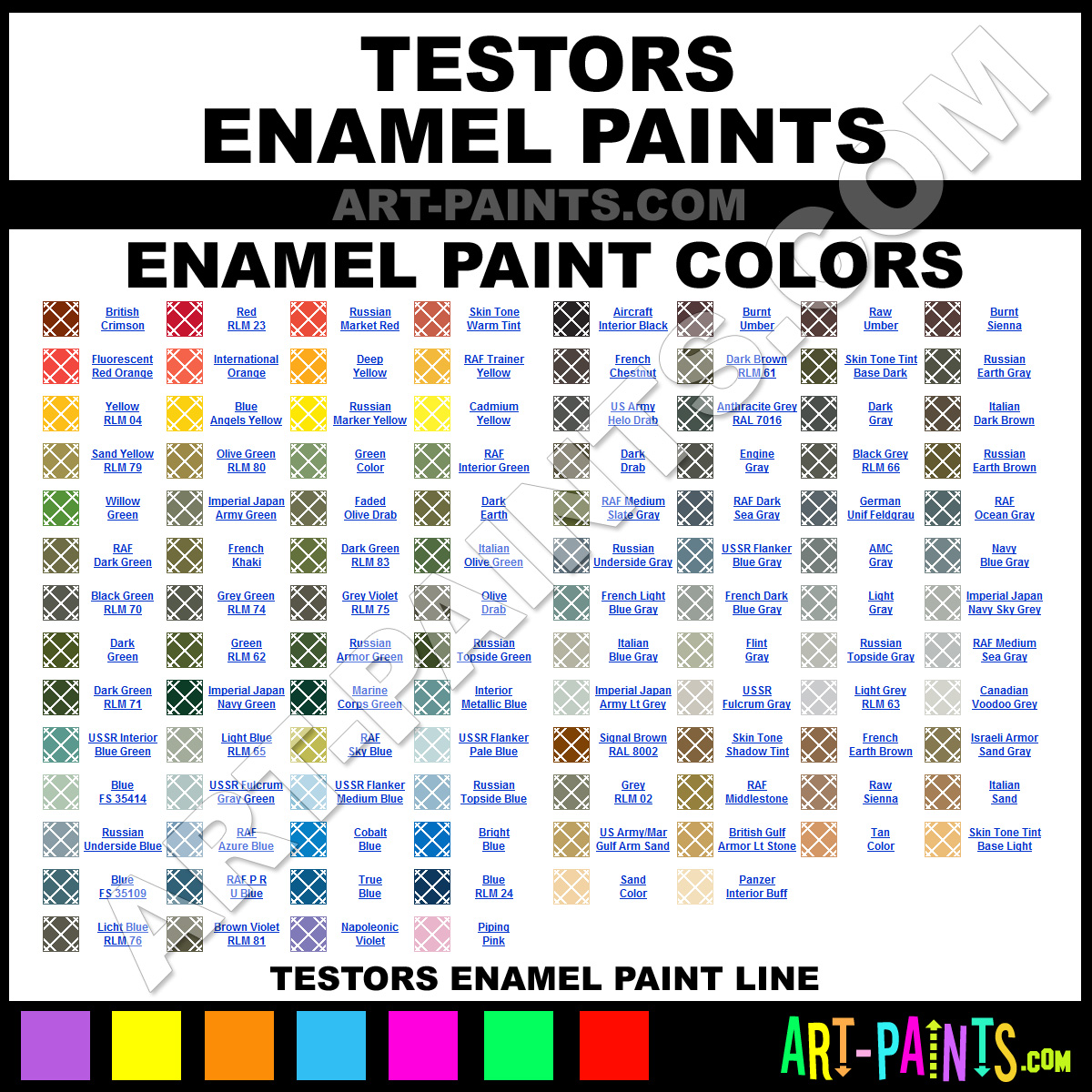 Testors Enamel Paint Brands Testors Paint Brands Enamel Paint