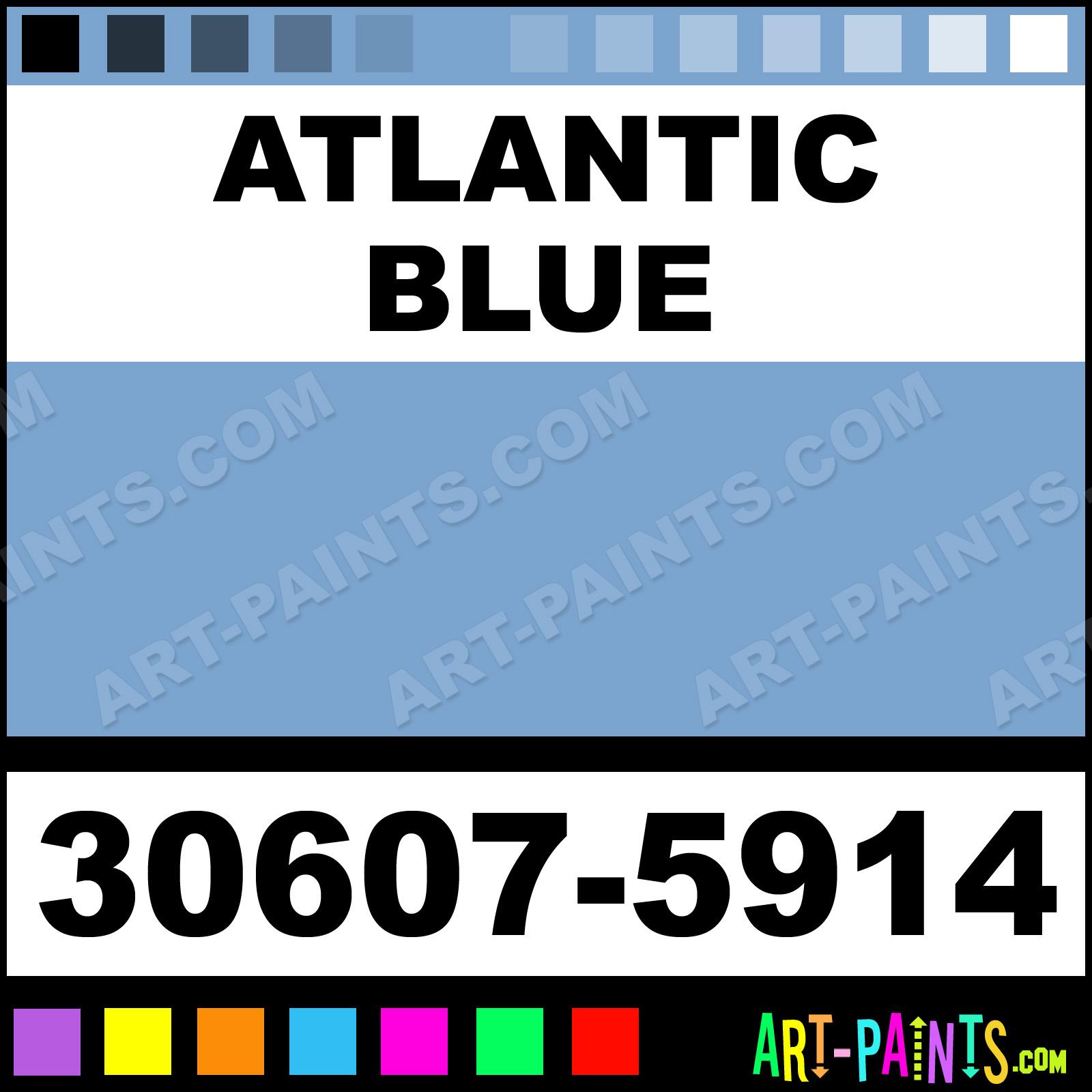 Thompson Paints Atlantic Blue