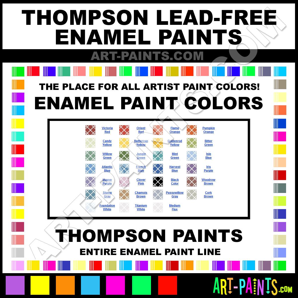 lead free enamel paint colors thompson lead free paint colors lead. Black Bedroom Furniture Sets. Home Design Ideas