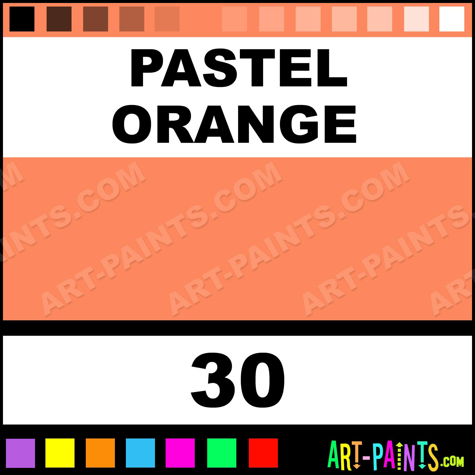 Pastel Orange Paint