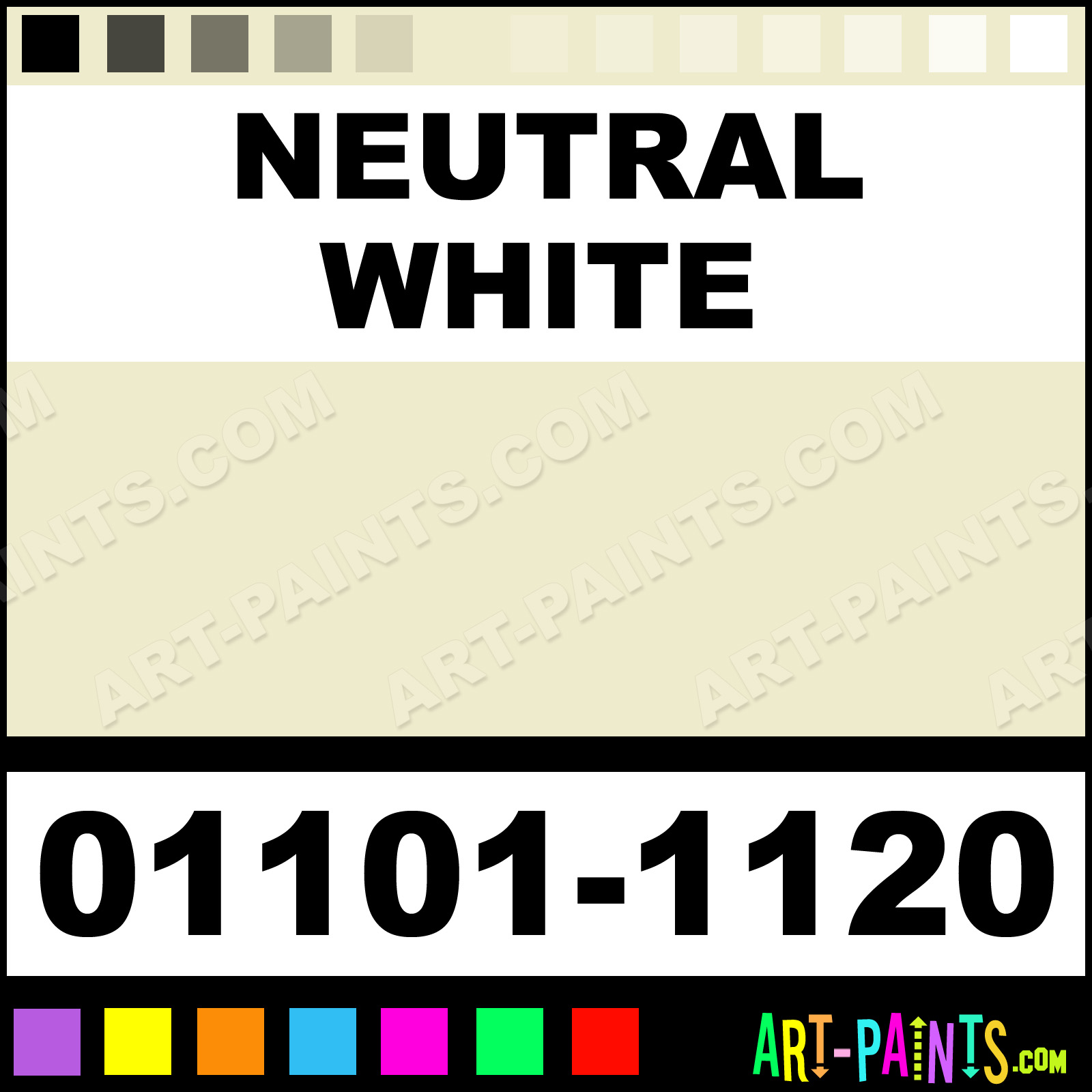 Neutral white artist encaustic wax beeswax paints 01101 for Neutral white paint