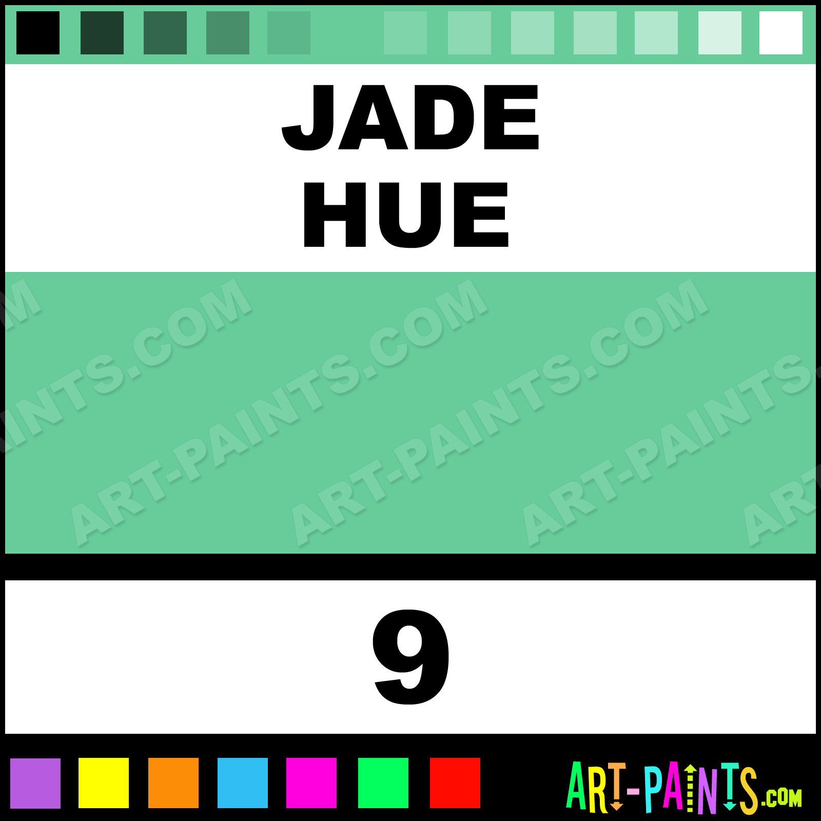 Jade Puff Fabric Textile Paints 9 Jade Paint Jade Color Dala Puff Paint 66cc9a Art