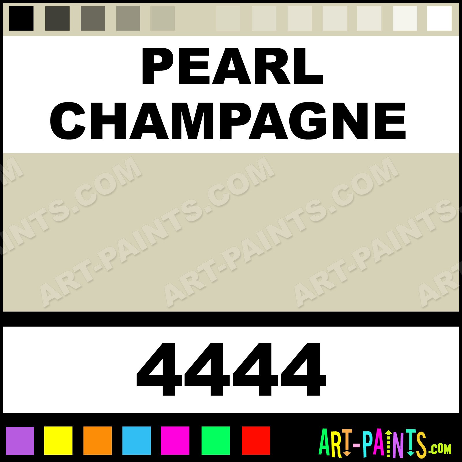 champagne paint colorPearl Champagne Colors Fabric Textile Paints  4444  Pearl
