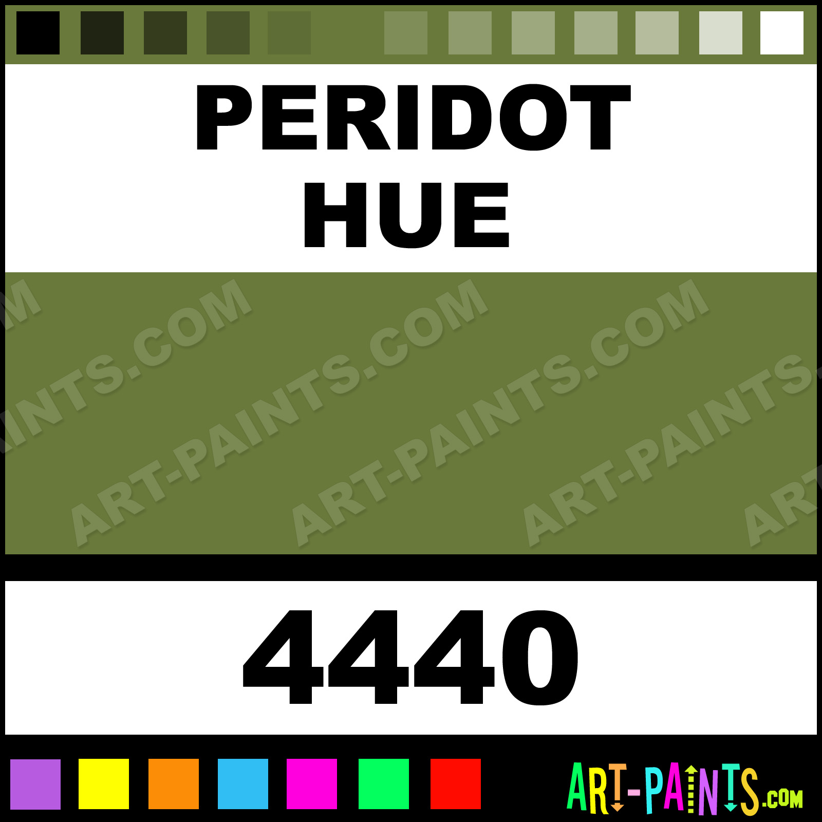 Peridot Colors Fabric Textile Paints 4440 Peridot Paint Peridot