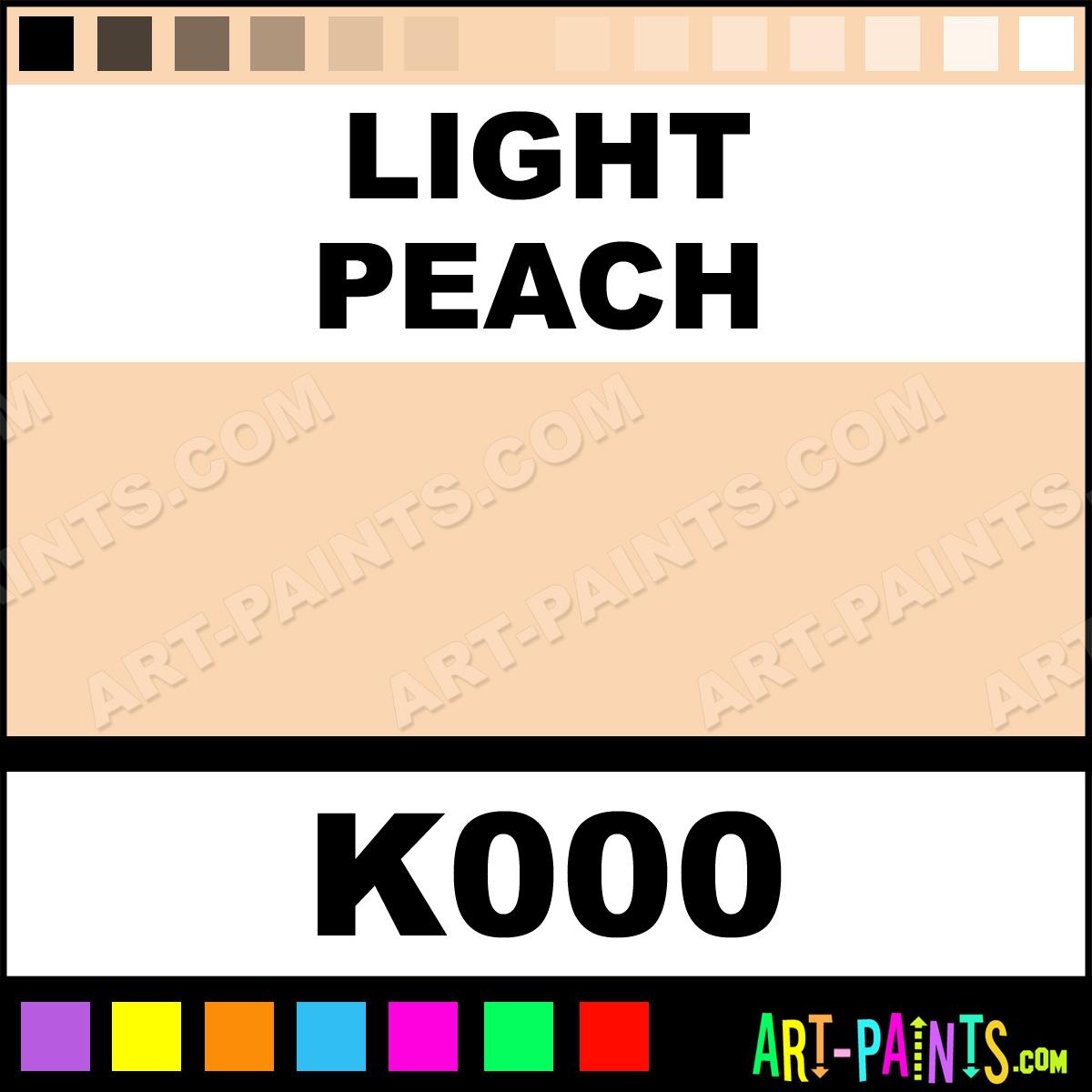 Light Peach Spray Paint