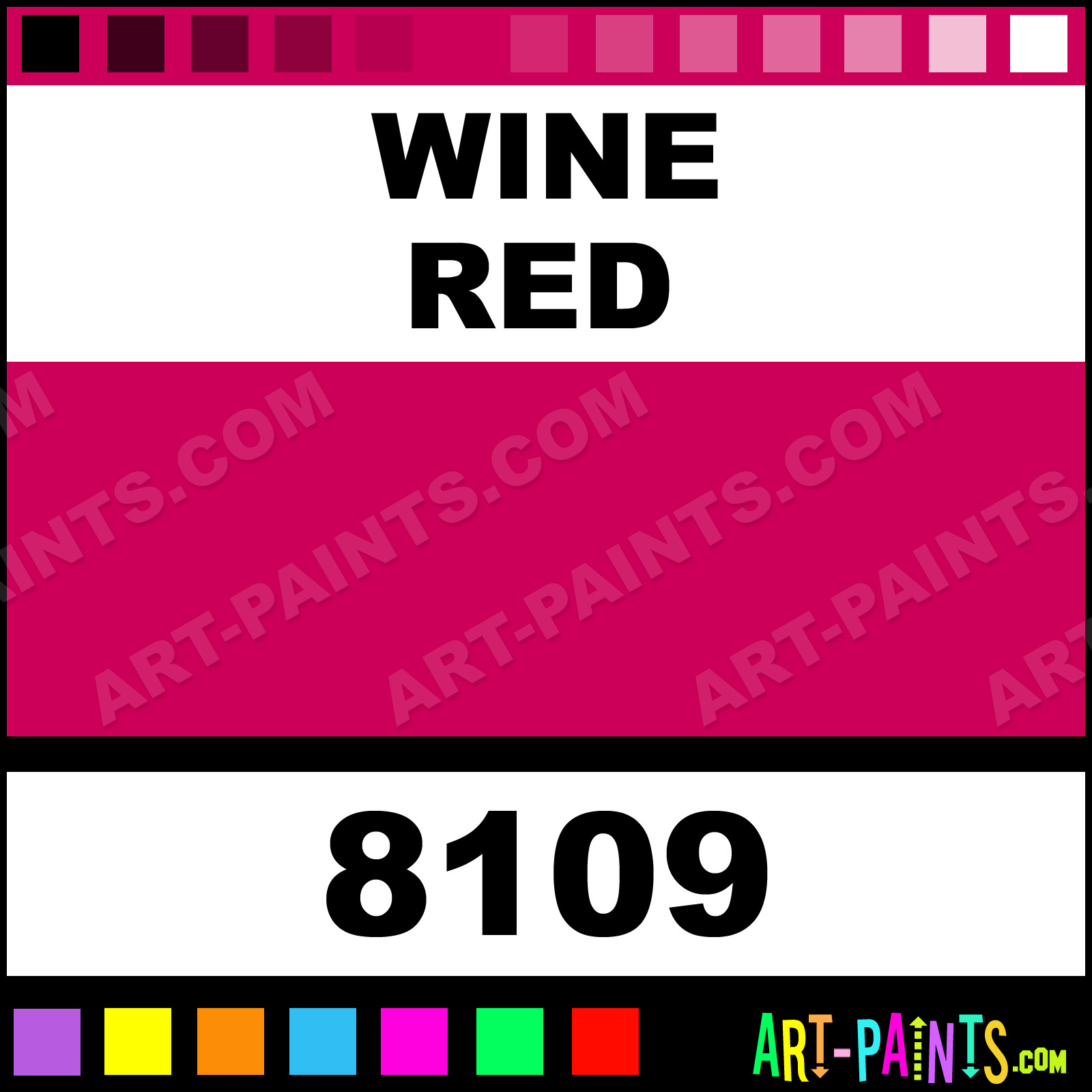 Wine Red Paint