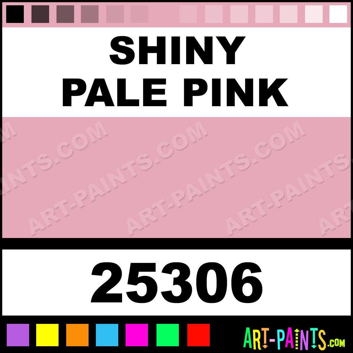 shiny pale pink fashion dimensional fabric textile paints 25306