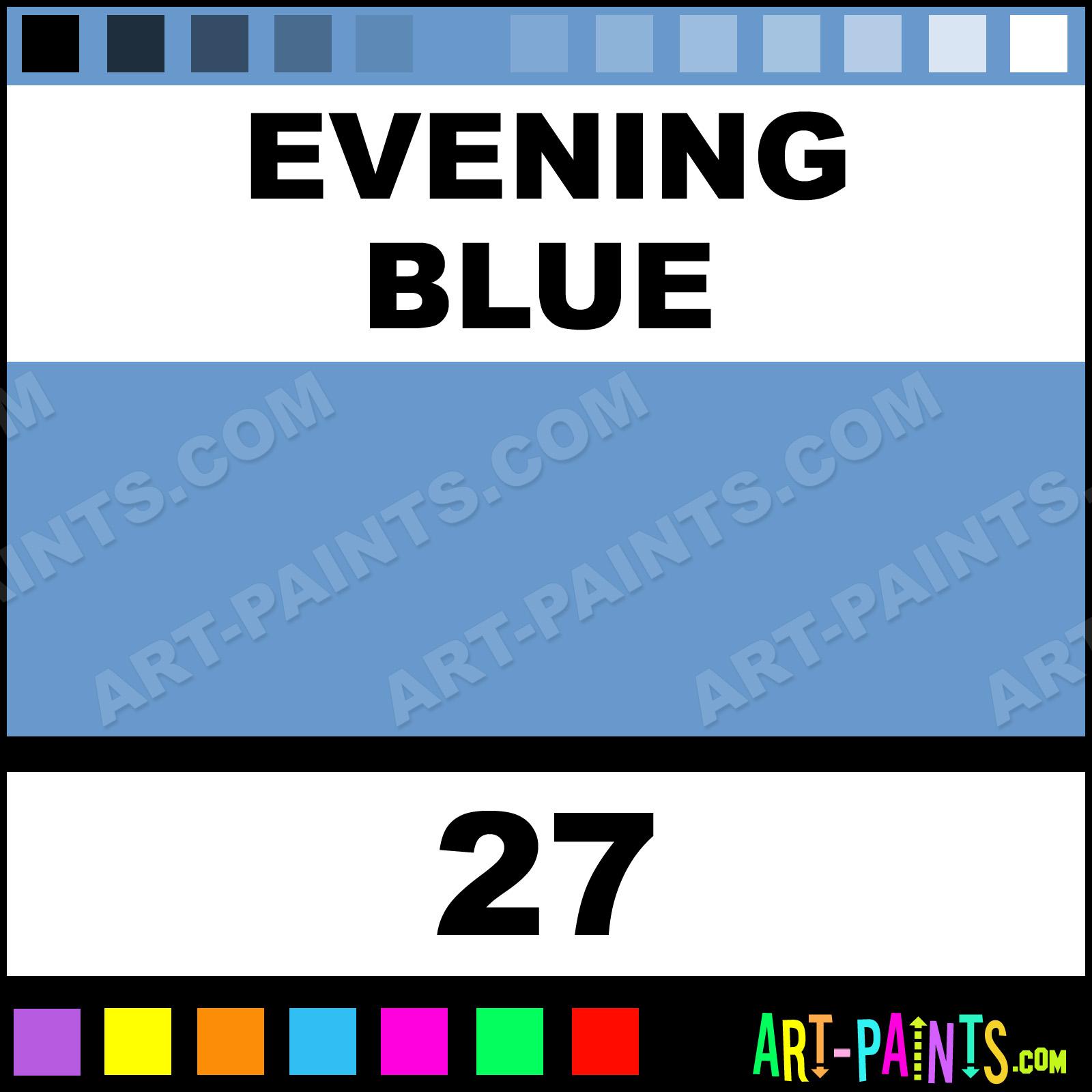 Evening blue liquid fabric textile paints 27 evening blue evening blue nvjuhfo Image collections
