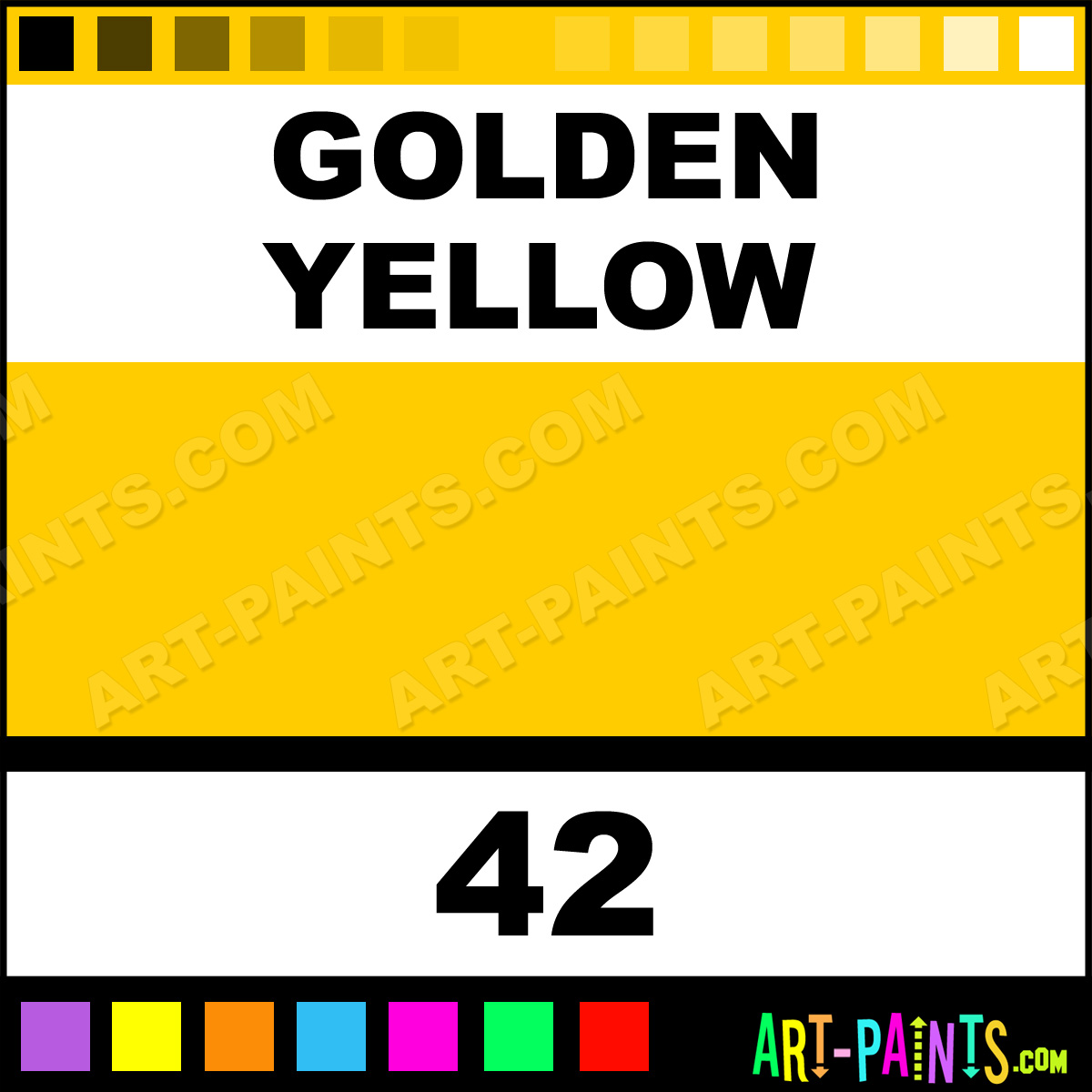 Golden yellow liquid fabric textile paints 42 golden yellow golden yellow paint 42 by rit dye nvjuhfo Choice Image