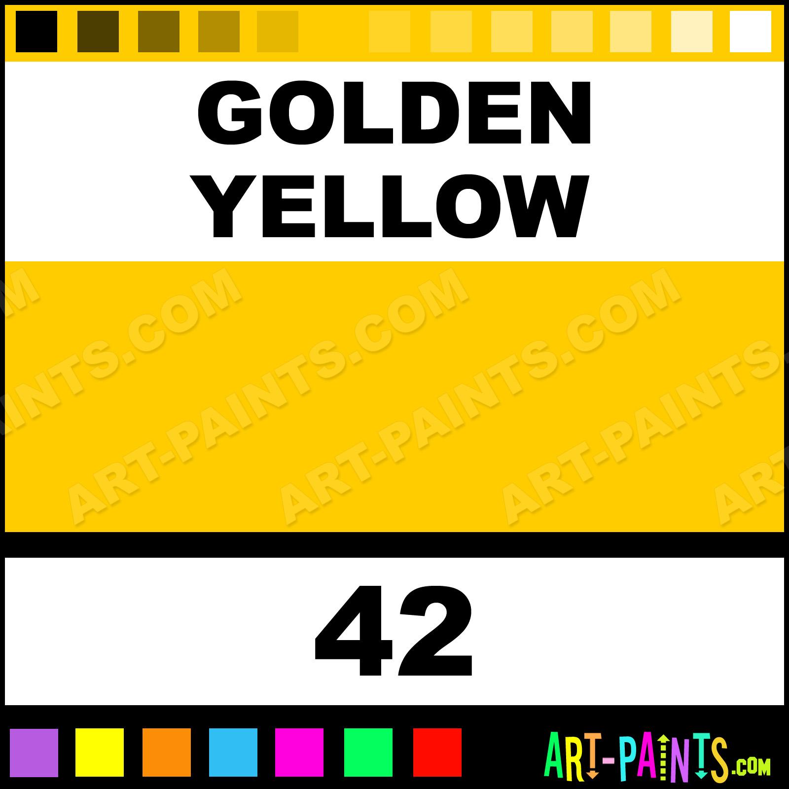 Golden yellow liquid fabric textile paints 42 golden yellow golden yellow paint nvjuhfo Images