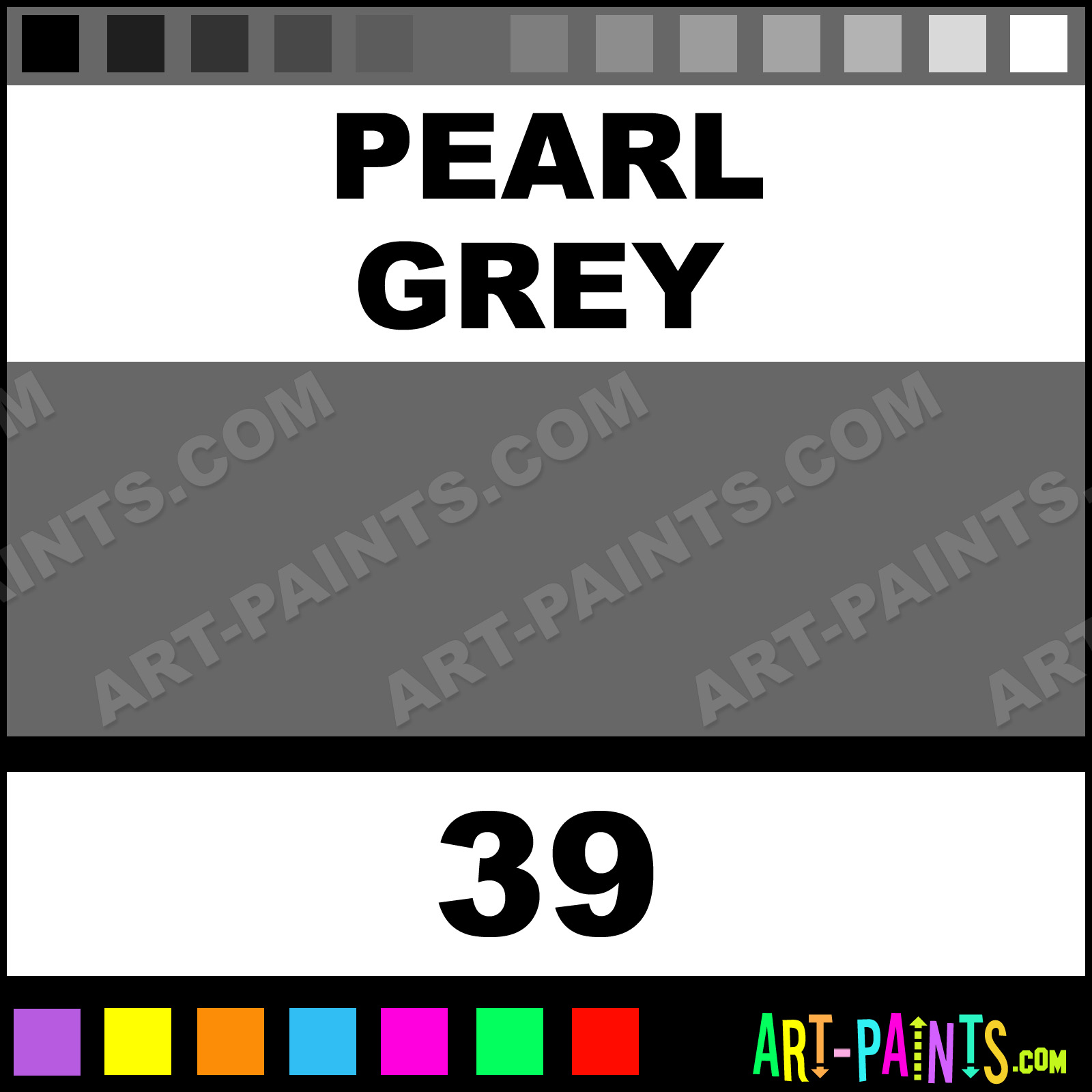 pearl grey liquid fabric textile paints - 39 - pearl grey paint