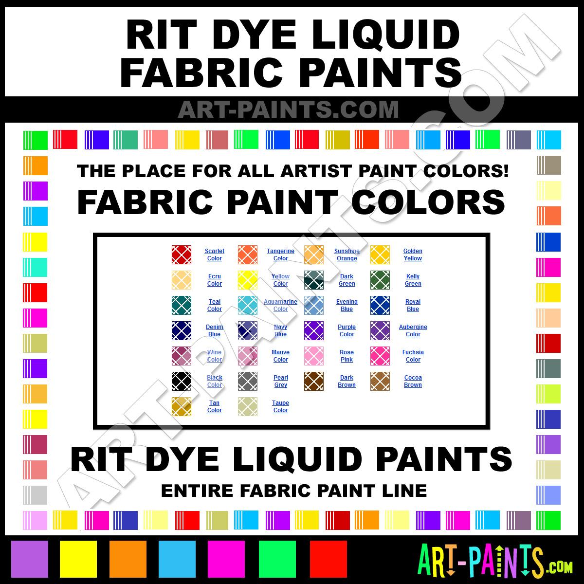 Rit dye liquid fabric textile paint colors rit dye liquid paint rit dye fabrics rit dye liquid paints nvjuhfo Image collections