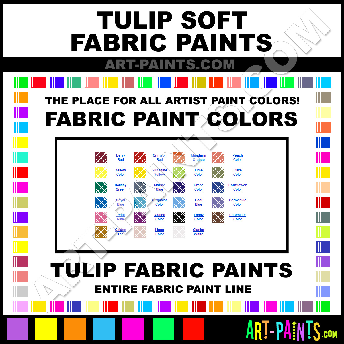 Tulip Fabric Textile Paint Brands Tulip Paint Brands Fabric Textile Paint Cool Color Neon