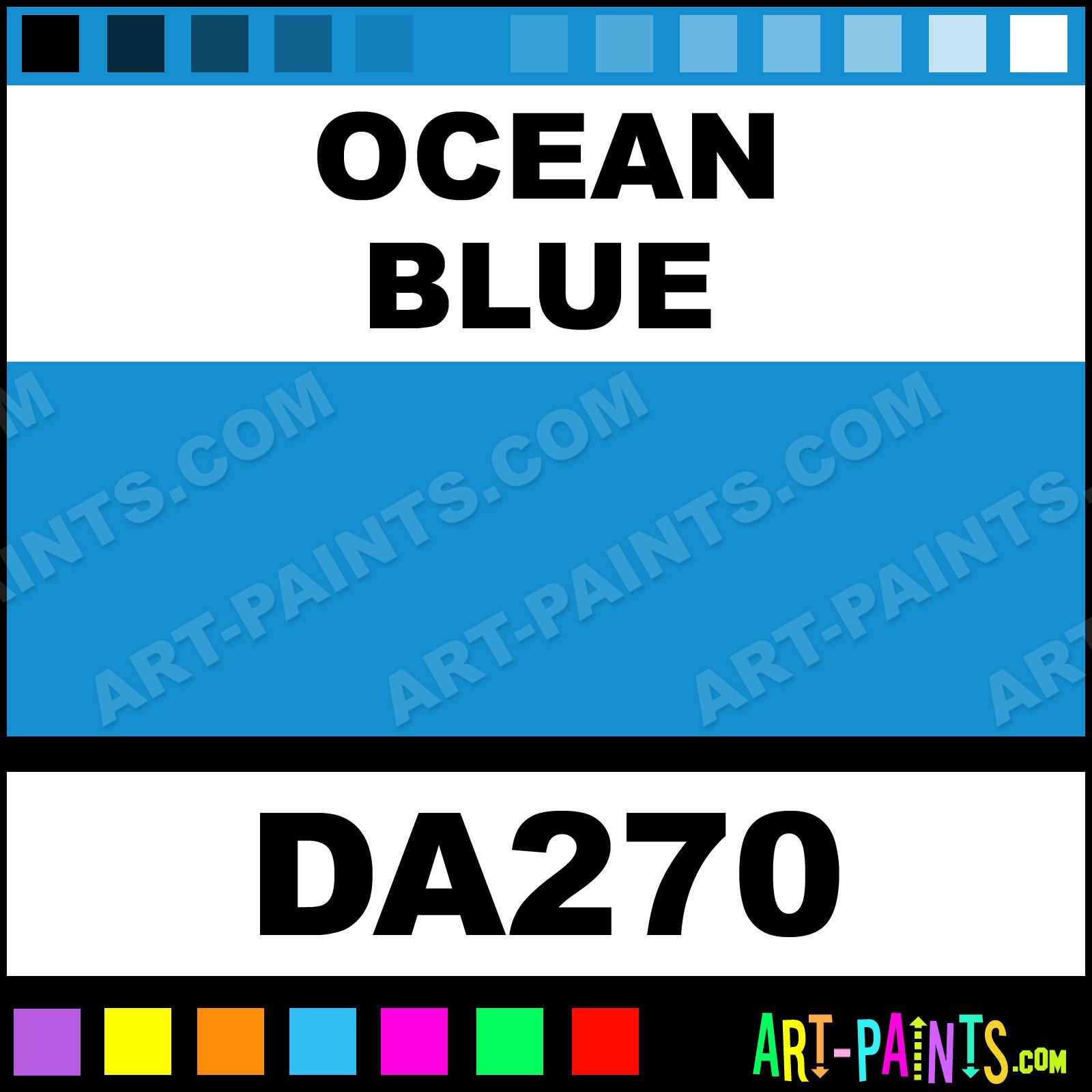 Ocean Blue Paint