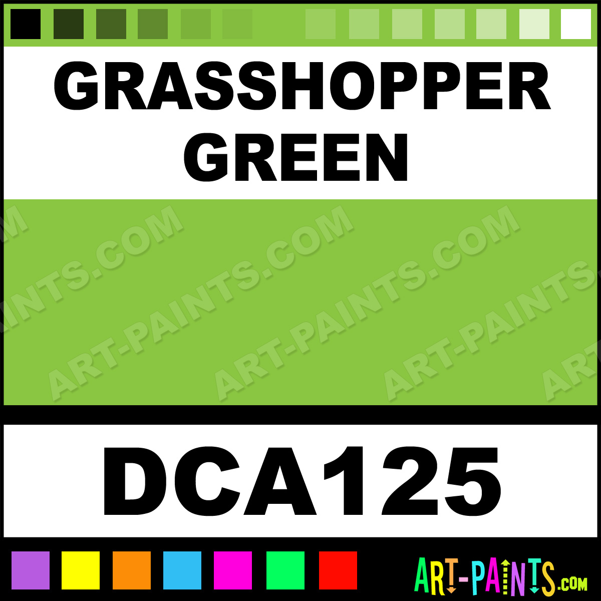 Grhopper Green Paint
