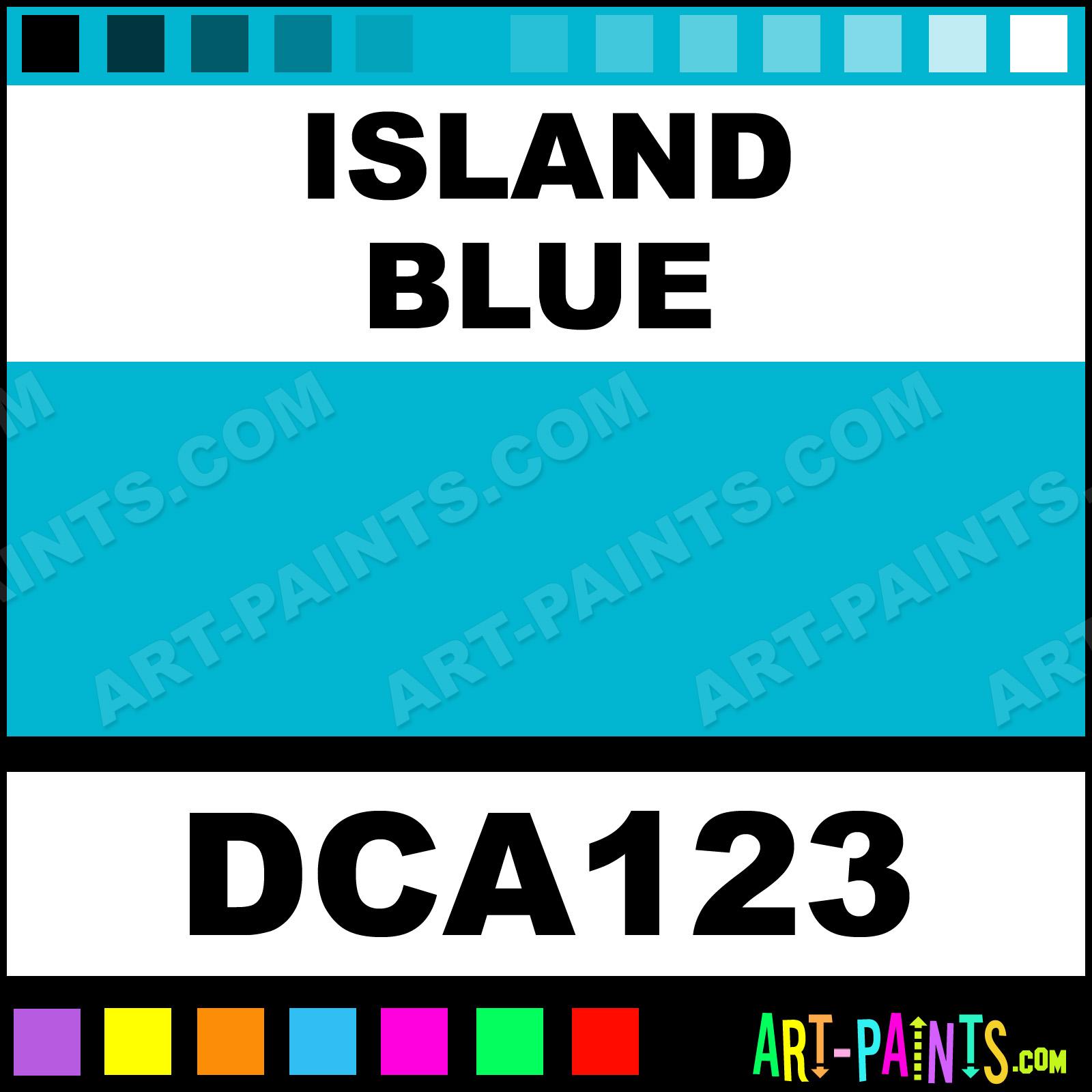 Island Blue Paint