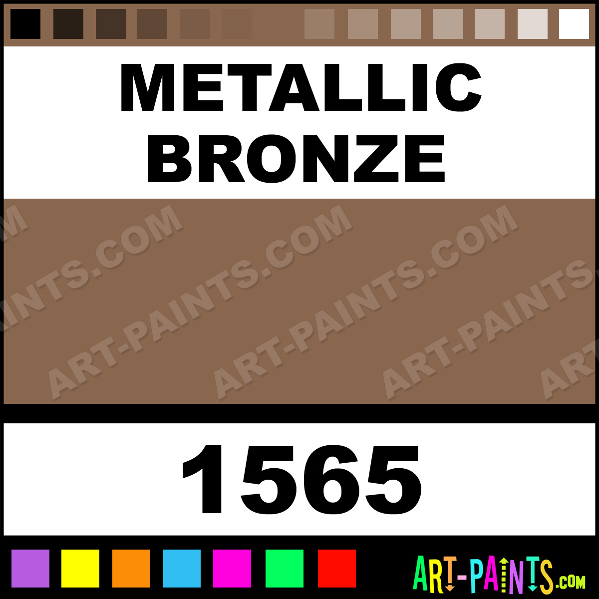 Metallic Bronze Lumiere Foam Styrofoam Foamy Paints 1565 Metallic Bronze