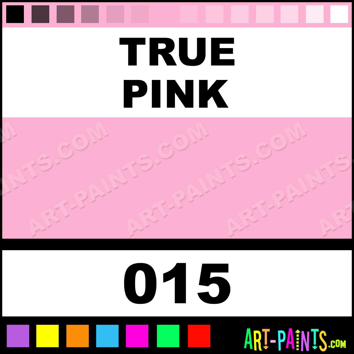 True Pink Puff Paint Foam Styrofoam Foamy Paints 015