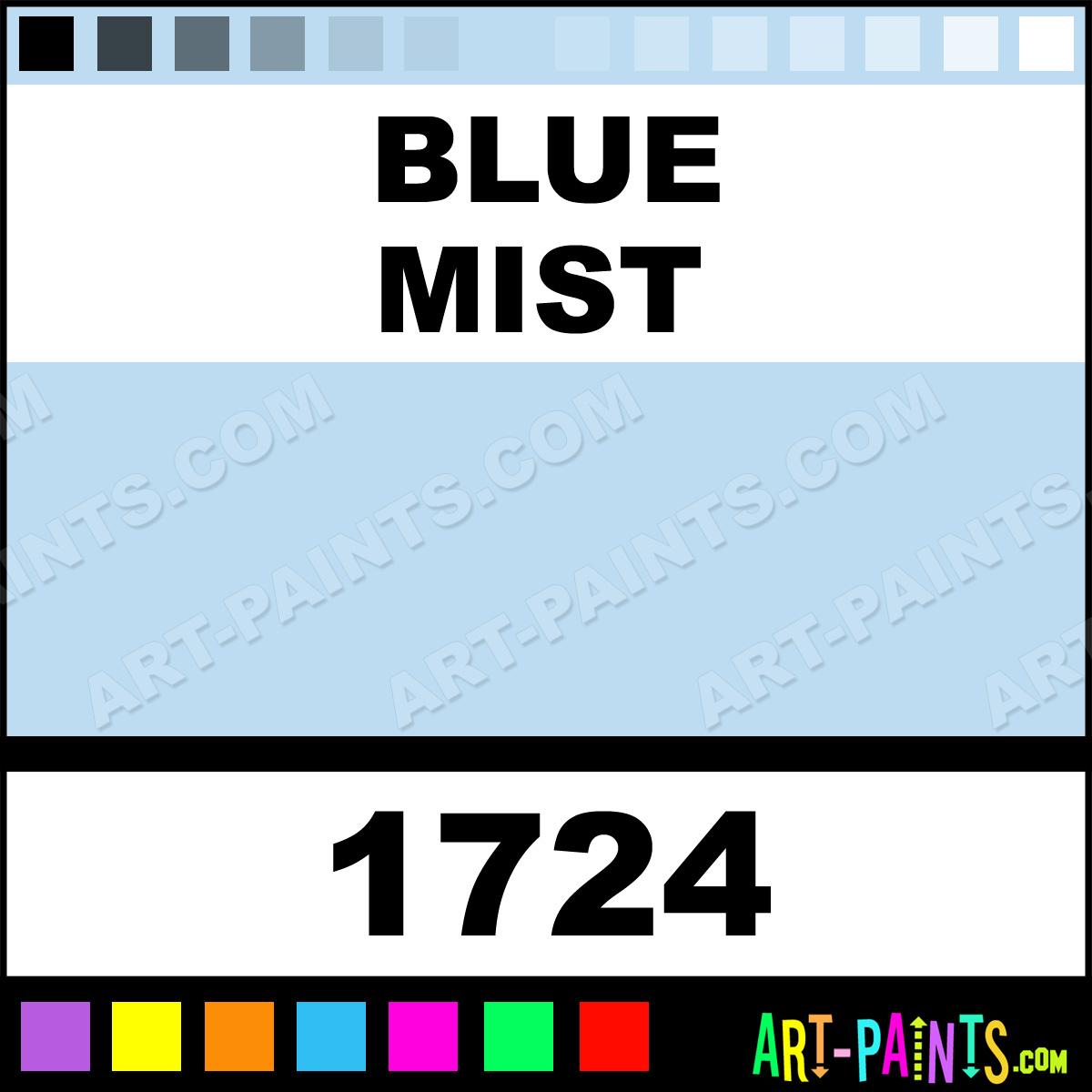 Painting Blue Foam Blue Mist Paint