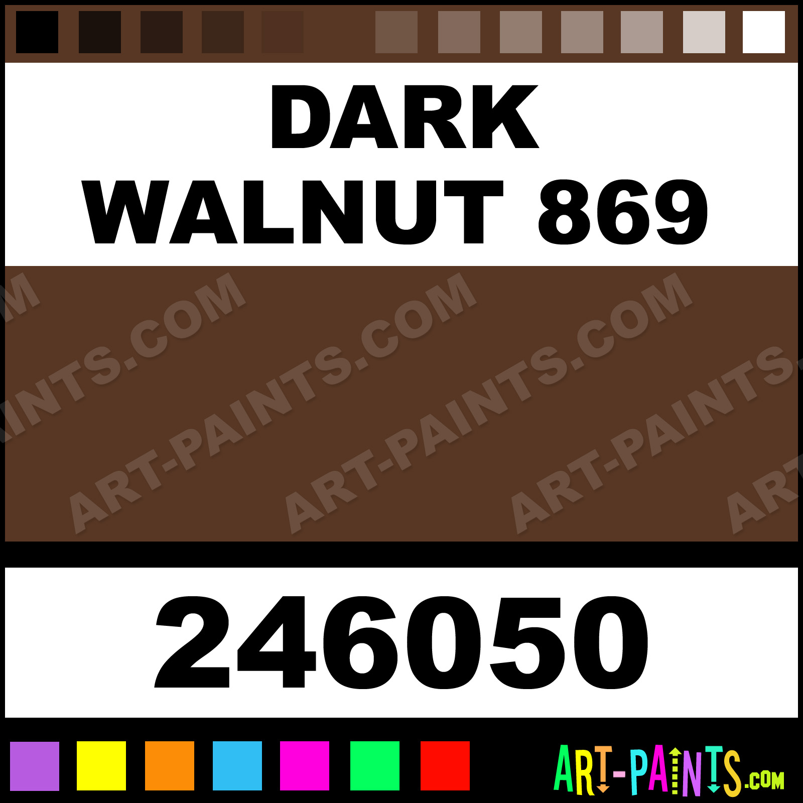 Dark Walnut 869 Paint
