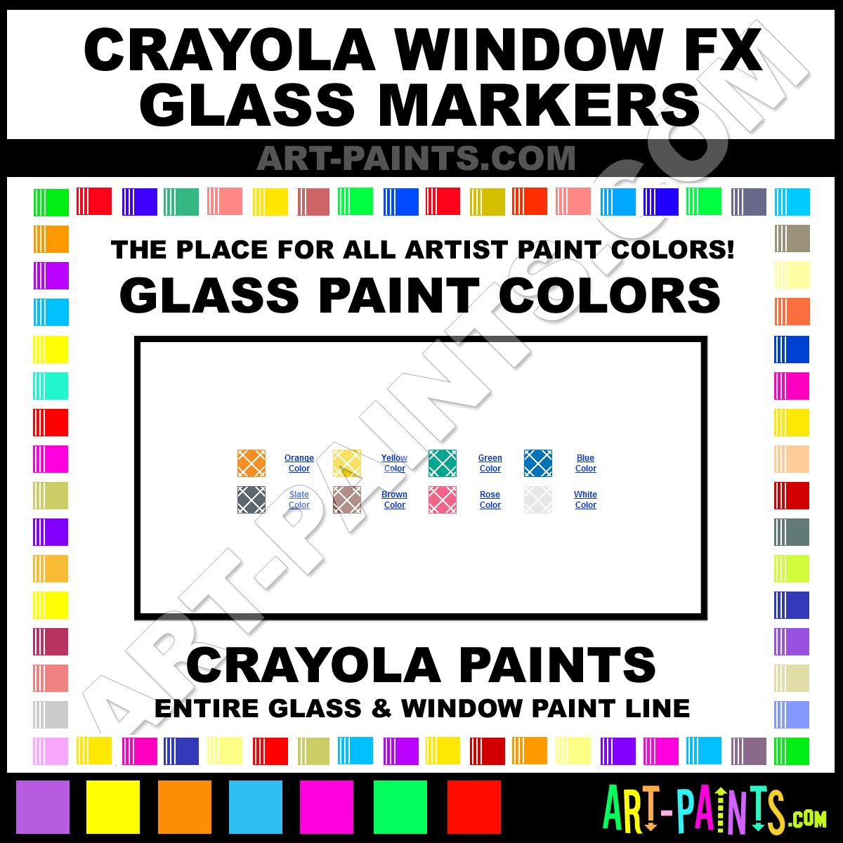 rose window fx markers stained glass window paints 21258 rose