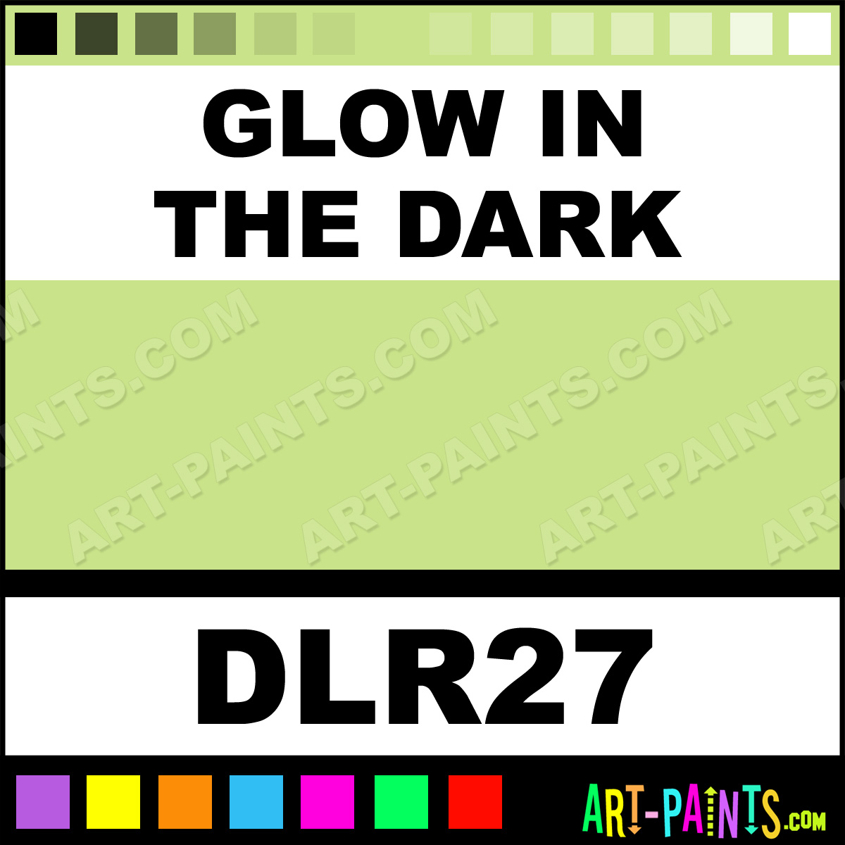 window paints inks and stains dlr27 glow in the dark paint glow. Black Bedroom Furniture Sets. Home Design Ideas