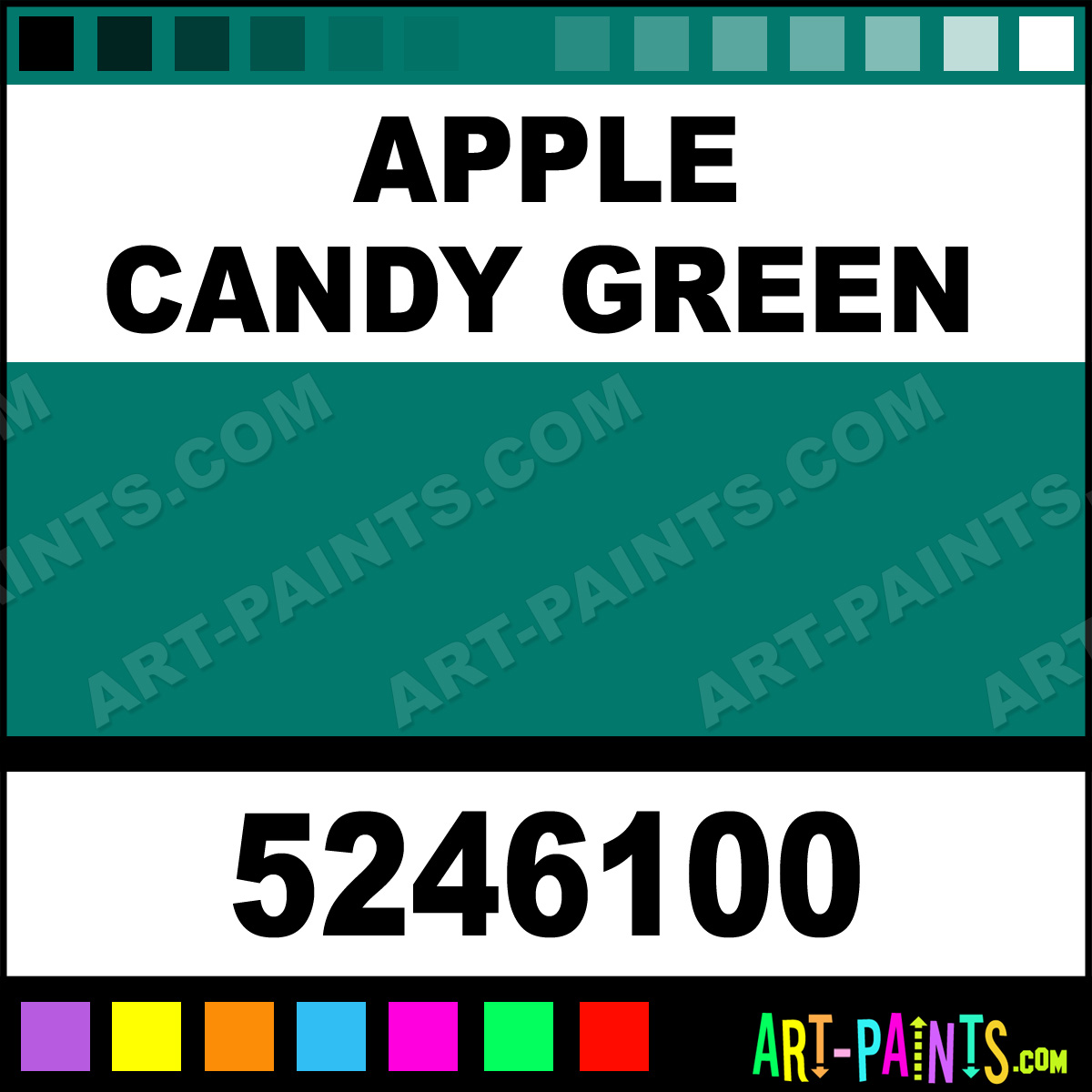 Apple Candy Green Paint