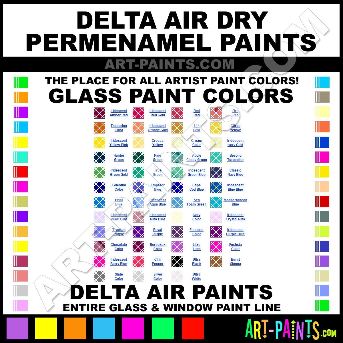Delta air dry permenamel glass and window paint colors stained delta geenschuldenfo Images