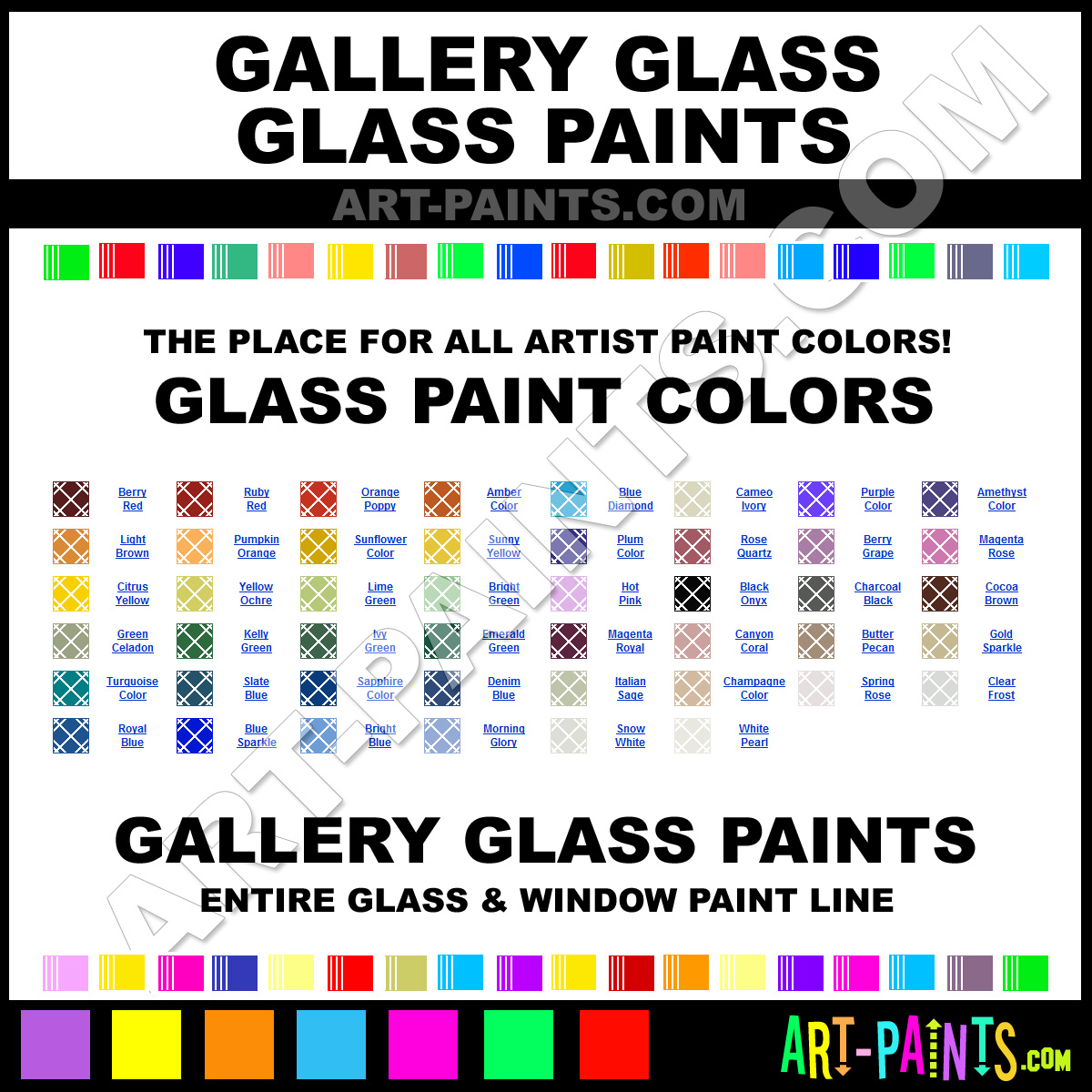 Gallery glass stained glass and window paint brands for Window brands